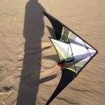 r-sky new trick kite sand
